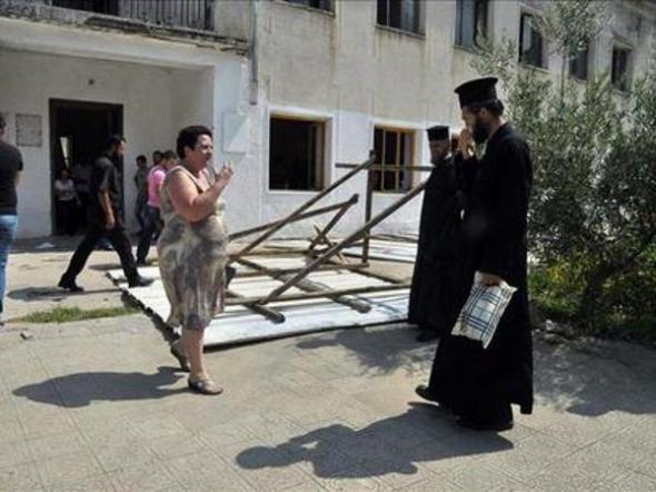 ortodoxos griegos en Albania 2013