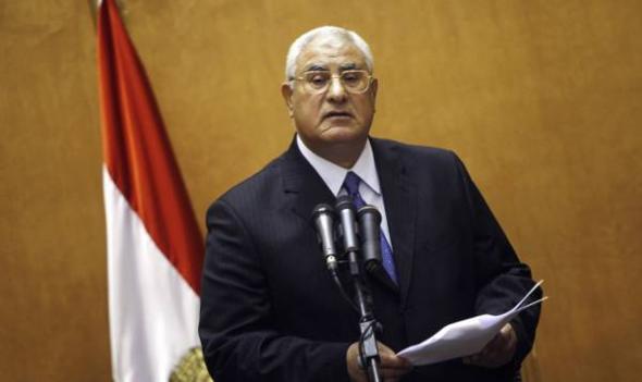 Adli Mansur presidente interino Egipto
