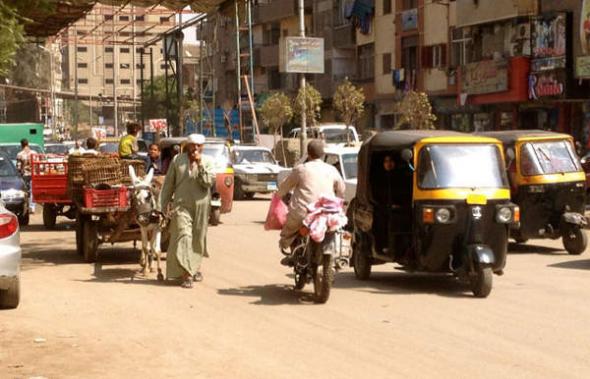 Imbaba barrio cairota Egipto 2013