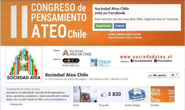 II congreso pensamiento ateo Chile 2013