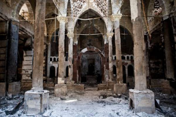 ataques islamistas iglesias coptos Egipto 2013