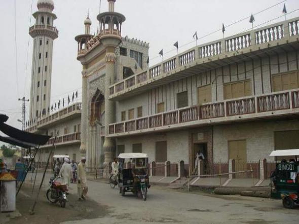 Bhakkar en Pakistán