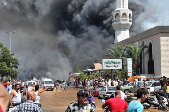 atentado mezquitas Líbano 2013