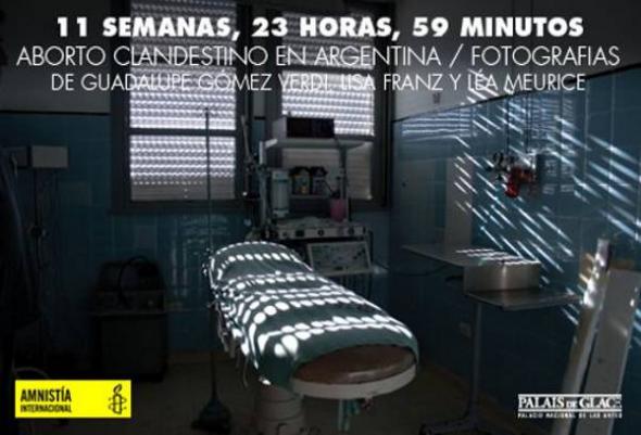 expo aborto clandestino Argentina 2013