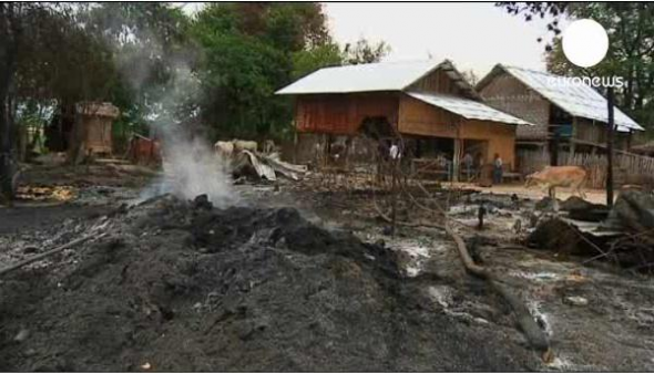 ataque budista Myanmar - Birmania
