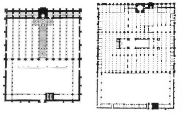 plano proyecto  mezquita sin catedral Córdoba
