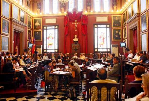 Crucifijo Ayuntamiento Palma