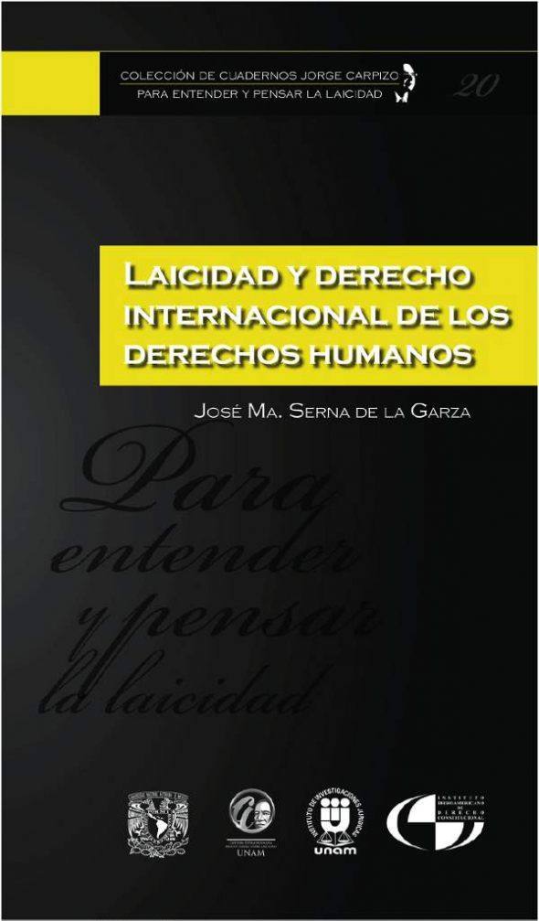 Cuadernos Laicidad UNAM 20