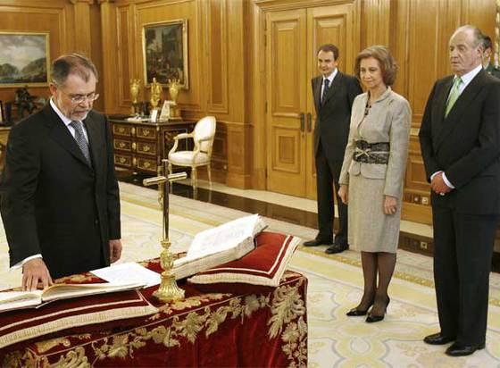 toma posesión Bermejo ministro justicia PSOE 2007