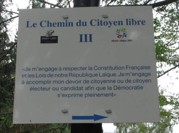 cartel laicidad parque Francia2