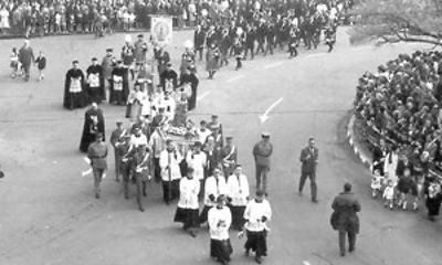 procesion Valladolid 1960