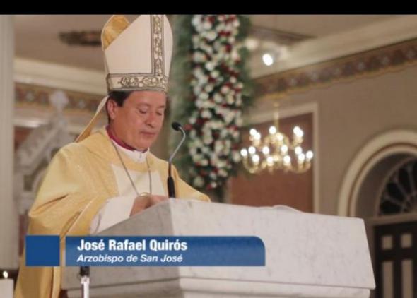 José Rafael Quirós arzobispo San José Costa Rica