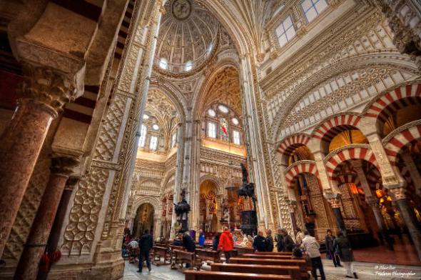 mezquita de Córdoba con catedral
