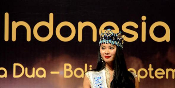Concurso miss mundo Indonesia