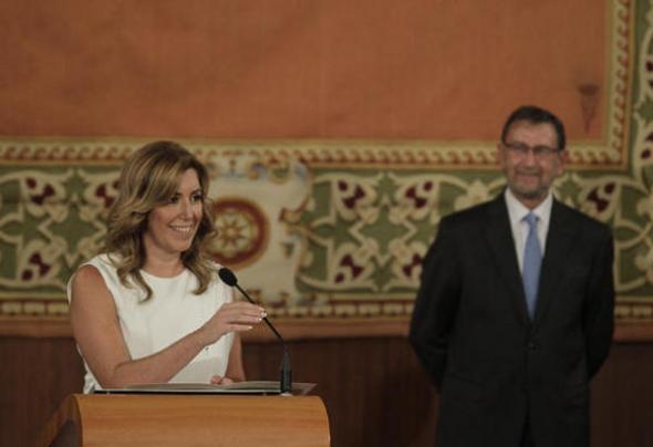 Susana Díaz PSOE jura