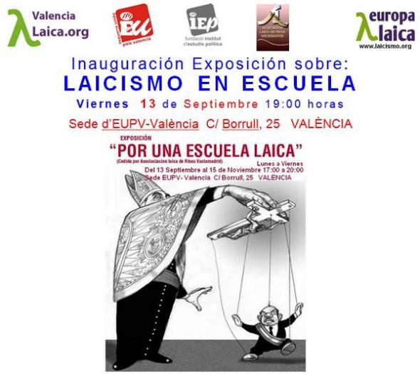 Expo laicismo escuela Valencia I