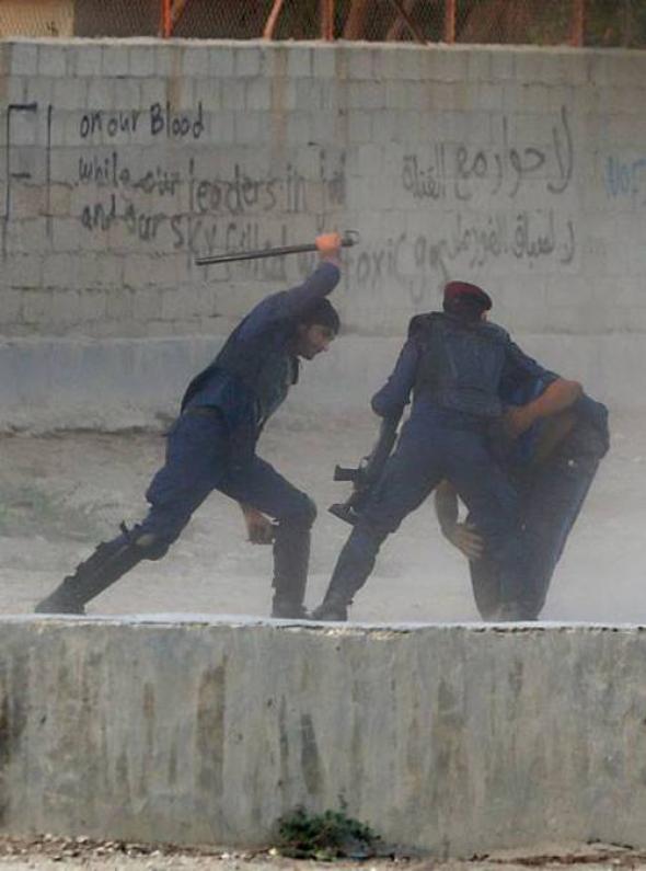 represión en Bahrein