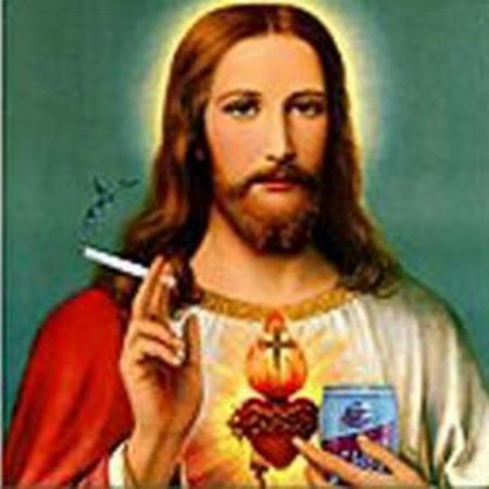 Cristo fumando