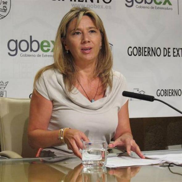 Cristina Teniente Portavoz Extremadura 2013