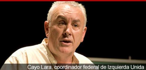 Cayo Lara coordinador IU