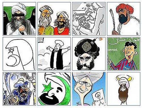 caricaturas Mahoma 2006