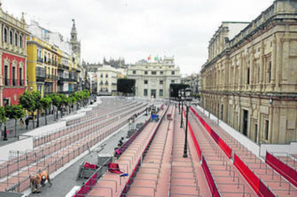 palcos cofradías Sevilla