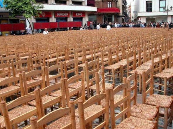 sillas cofradías Sevilla