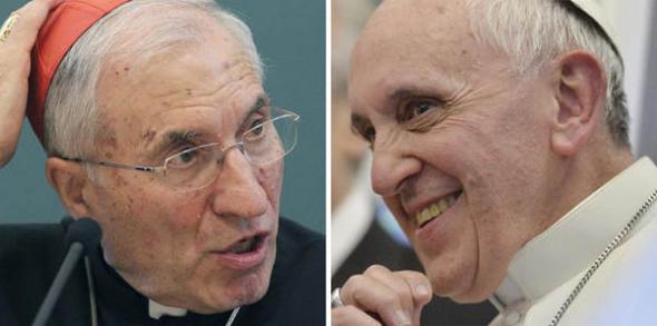 Rouco y Bergoglio
