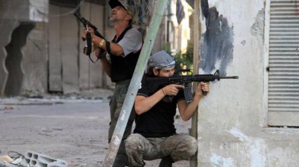 rebeldes Siria 2013