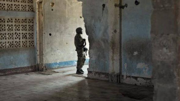 soldado en Somalia