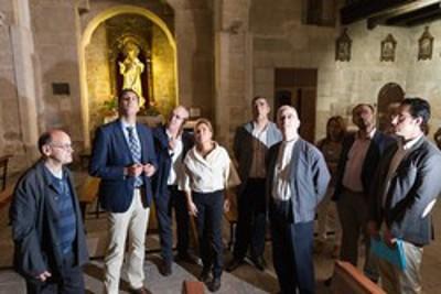 visita iglesia san Vicente Zamora