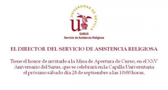misa Universidad Sevilla 2013