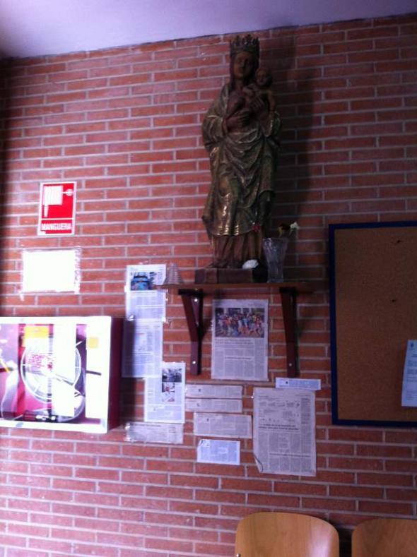 Virgen IES Almudena Madrid
