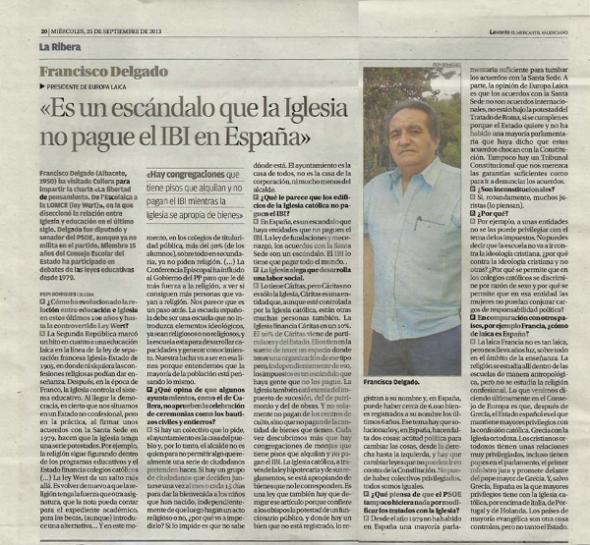 Entrevista F Delgado Cullera Levante 2013