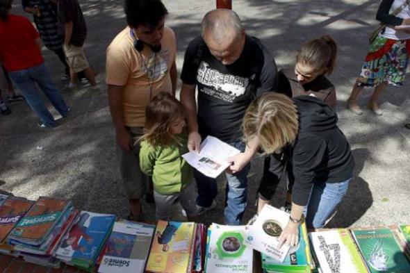 mercadillo libros de texto Madrid 2013