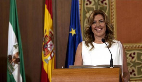 Susana Díaz toma posesión 2013