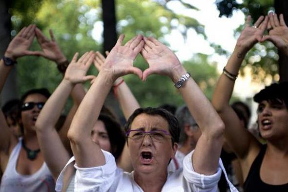 mani aborto Madrid