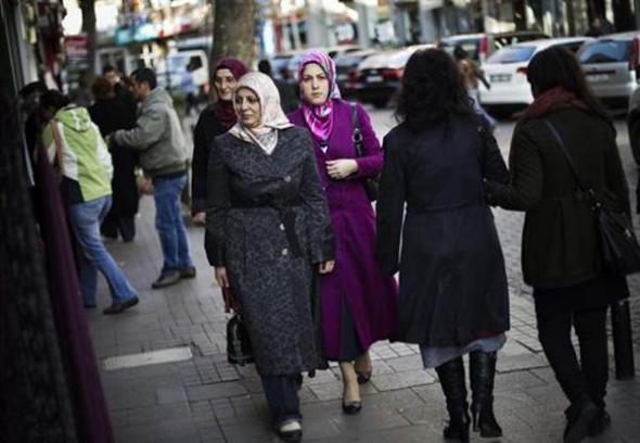 mujer velo Turquía