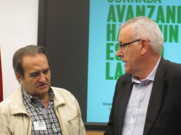 Jornada Parlamentaria 2013 F Delgado y Cayo Lara