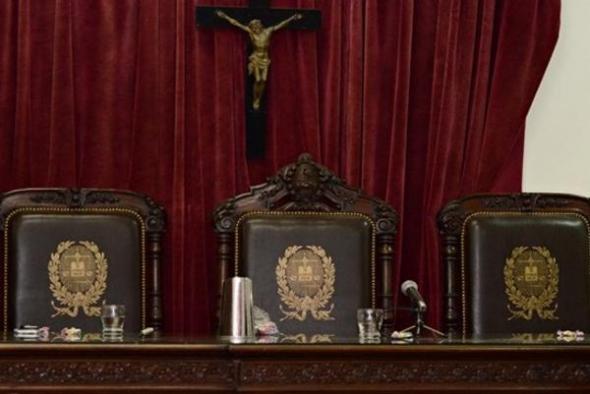 crucifijo tribunal ARG