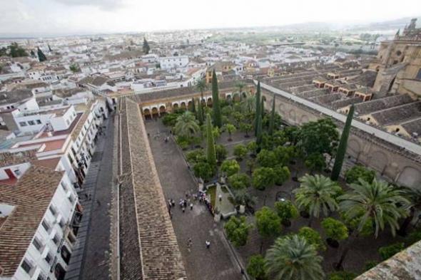 mezquita Córdoba desde alminar
