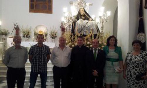 Virgen Angustias alcaldesa Fondón