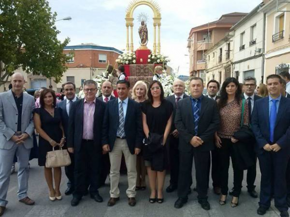 PSOE Albacete ante la virgen 2013