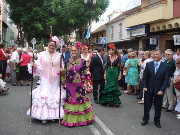 Procesión Fuengirola 2013 Concejales PP