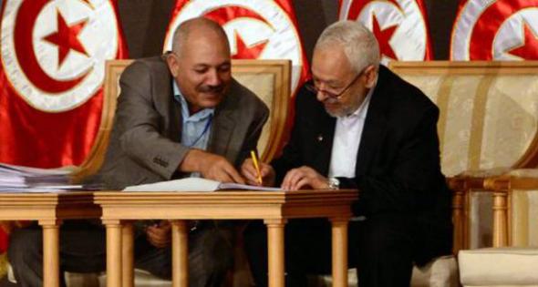 islamistas dejan gobierno Túnez 2013