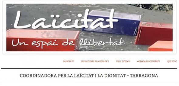 coordinadora laicidad Tarragona