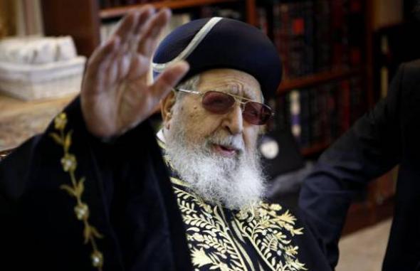 rabino Ovadia Yosef