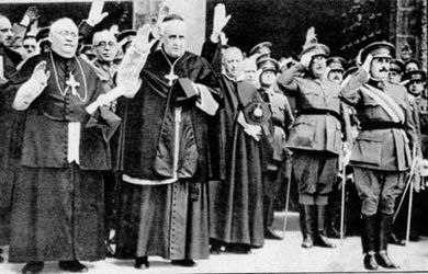 iglesia dictadura Franco