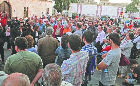 acto contra beatificaciones Tarragona 2013