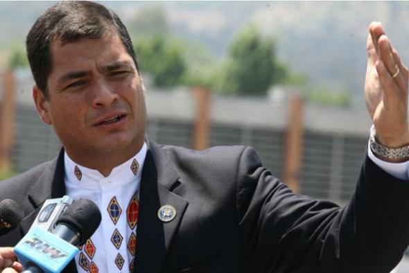 Presidente Correa Ecuador